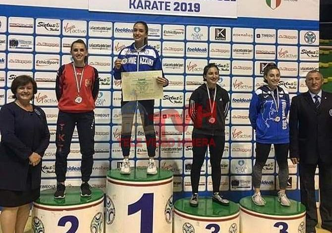 Photo of Karate: Campionati Italiani U21 – Bronzo per la cerdese Marta Lo Dato