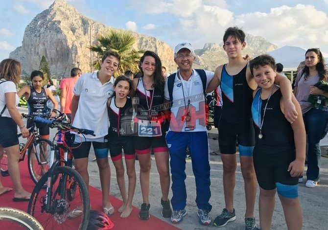 Photo of Termini Imerese: La squadra di Triathlon chiude l'anno agonistico in bellezza
