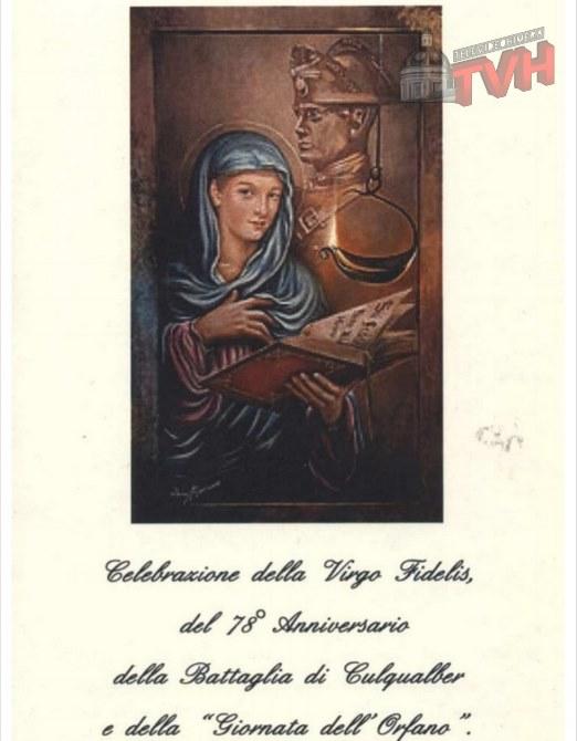 Celebrazione Virgo Fidelis