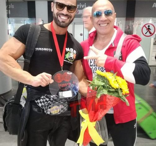 Photo of Termini Imerese, Bodybuilding: E' lui Mr Universo, Ignazio Iannolino