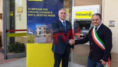 Photo of Scillato: Poste Italiane inaugura l'Atm Postamat alla presenza del Sindaco