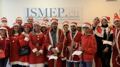 """Photo of Babbo Natale in corsia all'Ospedale Pediatrico """"G. Di Cristina"""""""