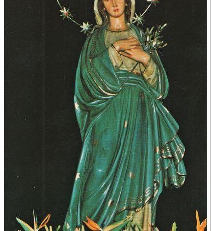 """Photo of Termini Imerese: L'oro dell'Immacolata, """"La Madonna Sfrattata"""" – di Nando Cimino"""