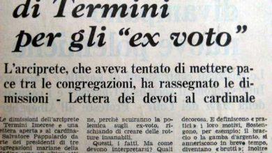 Photo of Termini Imerese: L'oro dell'immacolata, si dimette l'arciprete – di Nando Cimino