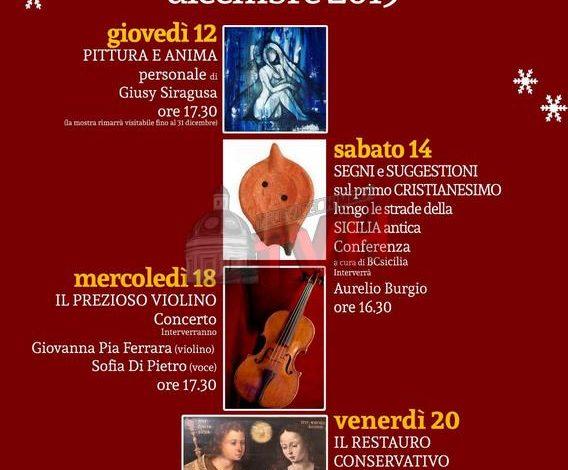 """Photo of Termini Imerese: """"Natale 2019"""", proseguono le attività culturali al Museo"""