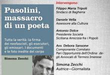 """Photo of Bagheria: Presentazione del libro """"Pasolini, massacro di un poeta"""" di Simona Zecchi"""
