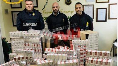 Photo of Termini Imerese: Sequestrati cento chili di sigarette di contrabbando