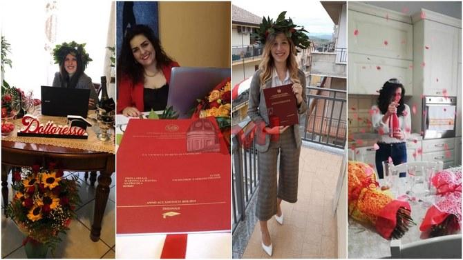 Photo of Cerda: La laurea ai tempi del Coronavirus, in quattro proclamate dottoresse