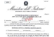 Photo of Coronavirus: Autocertificazione spostamenti, il modulo per spostarsi in tutta Italia