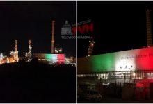 Photo of Termini Imerese: Coronavirus, la Centrale Enel illuminata con i colori della Bandiera Italiana