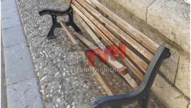 Photo of Cerda: Vandalizzata la panchina della Villa Comunale