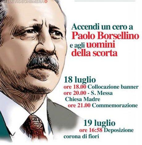 """Photo of Termini Imerese: Accendi un cero in memoria di """"Paolo Borsellino"""""""
