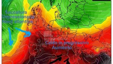 Photo of Meteo: Caldo in progressivo aumento sul Centro-Sud e Sicilia, ma non per tutti
