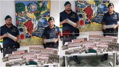 Photo of Palermo: Sequestrati oltre 16 kg di sigarette e 5 gr di marijuana