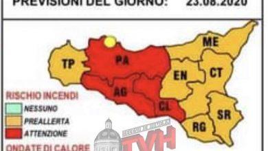 Photo of Allerta Rossa incendi per la provincia di Palermo
