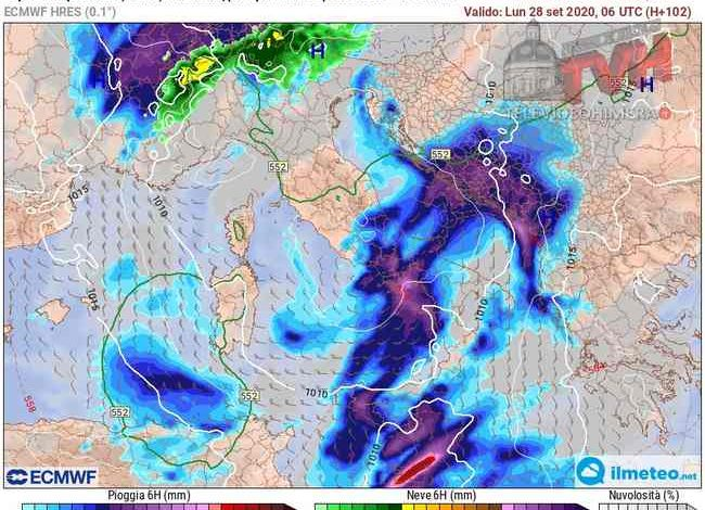 Photo of Meteo: Weekend dai due volti in Sicilia, ultimo sussulto dell'Estate, poi crollo termico