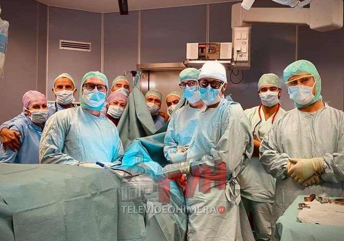 Photo of Sanità: Al Rizzoli-Sicilia ricostruzione vertebrale con protesi in 3D