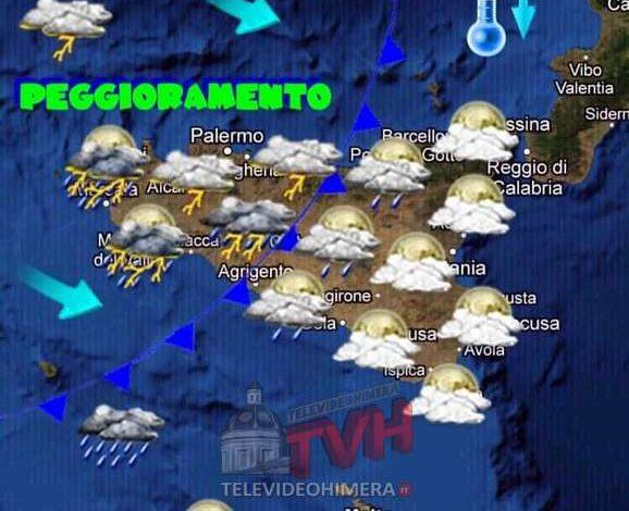 Photo of Meteo: Tempo in peggioramento in Sicilia a partire dalla seconda metà della giornata
