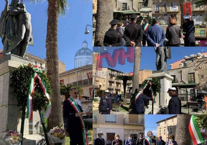 Photo of 4 Novembre: Cerda onora le Forze Armate e i Suoi Caduti